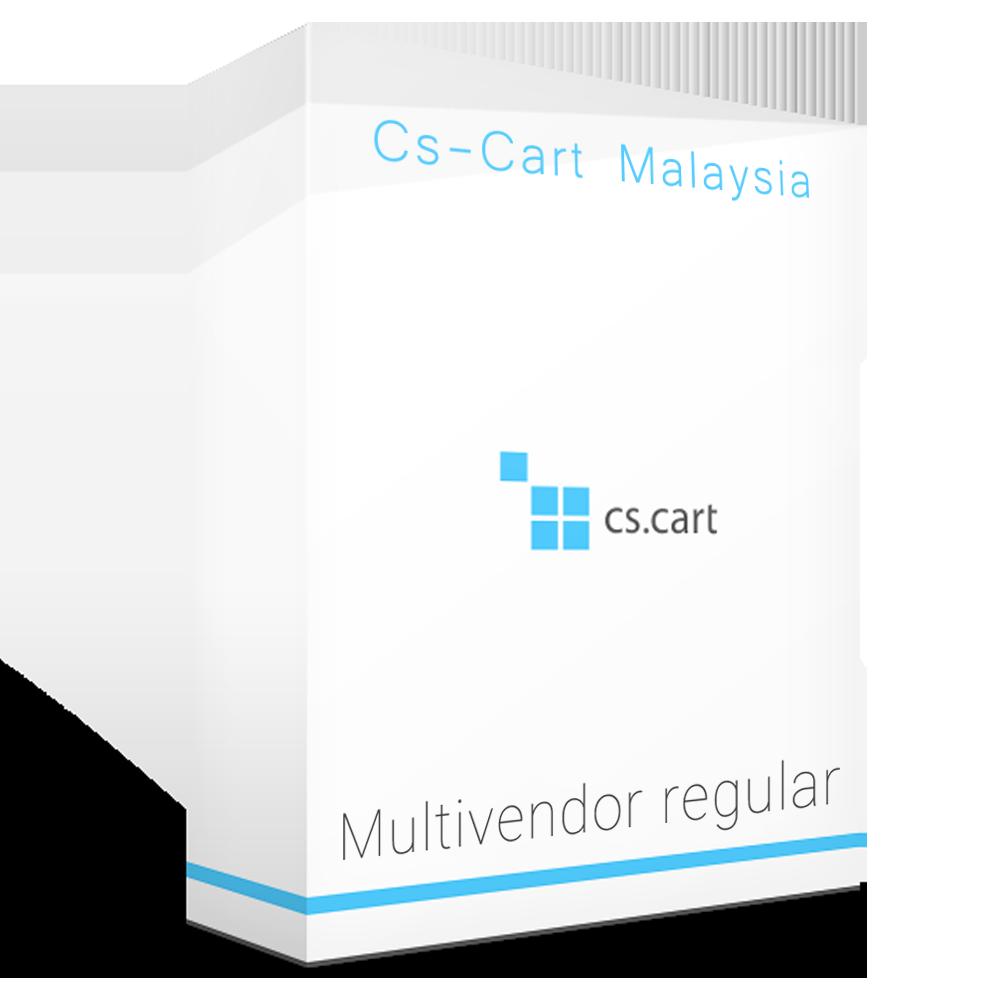Cs-cart Multivendor Regular