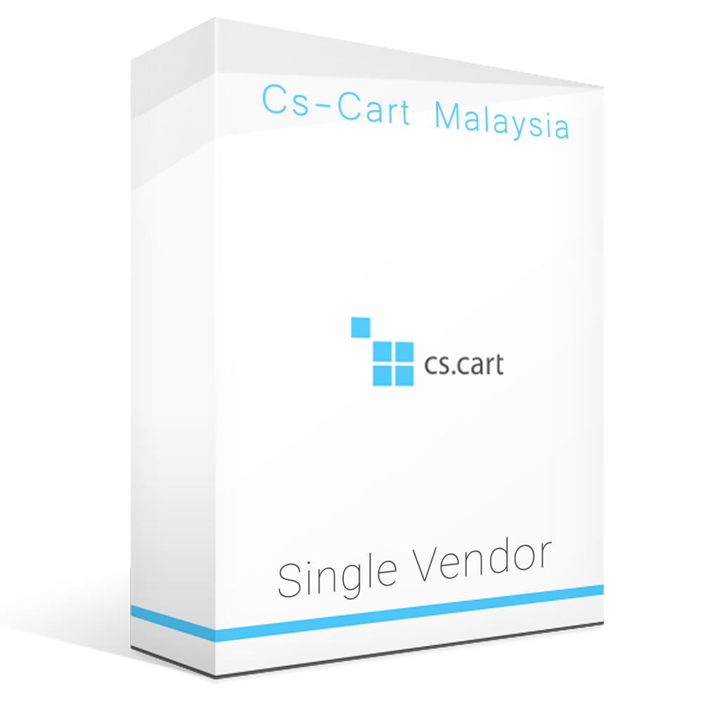 Cs-cart Single Vendor