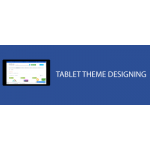 Tablet theme design